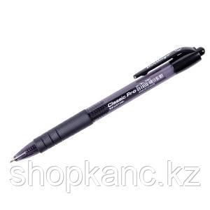 Ручка шариковая автоматическая, Classic Pro, черная, 0,7 мм.