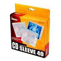 Файл для 2CD/DVD,140*145мм, прозрачный Aidata