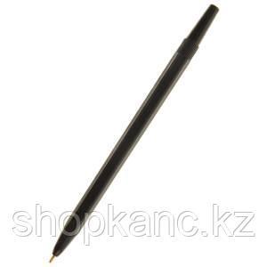 Ручка шариковая, с черным стержнем, РШ04.