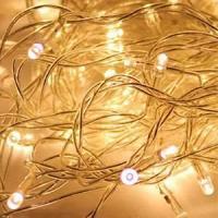 Светодиодная гирлянда,120 светодиодов, белый, 8 режимов мигания, размер 14м