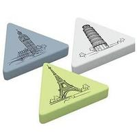 "Ластик ""Triangle XL"", треугольный, термопластичная резина, 55 * 55 * 55 * 9 мм"