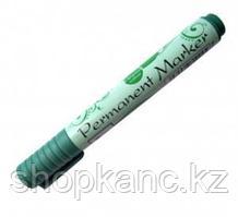 Маркер перманентный зеленый конусообразный стержень