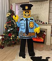 Ростовая кукла Лего Полицейский
