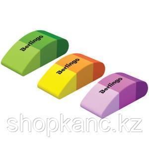 """Ластик Berlingo """"Fluent"""", фигурный, термопластичная резина, цвета ассорти, 46*20*15мм"""