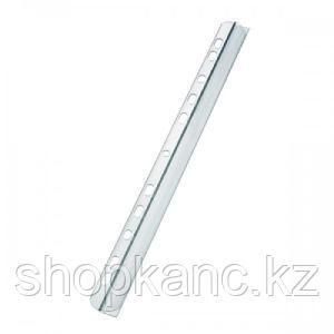 Скрепкошина перфорированная  А4, 6 мм, 60 листов, пластик, прозрачная.