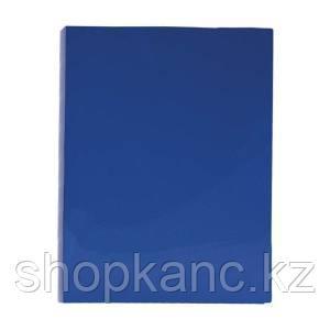 """Папка с зажимом """"Line"""", 14мм, 500мкм, синяя"""