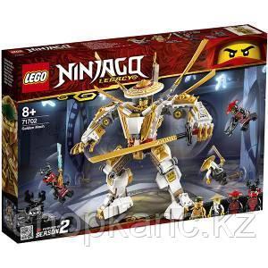Игрушка Ниндзяго Золотой робот