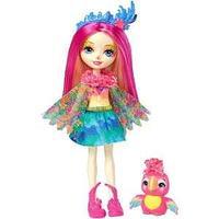Mattel Enchantimals Кукла с любимой зверюшкой Пикки Какаду