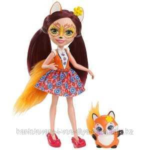 Mattel Enchantimals Кукла Фелисити Лис