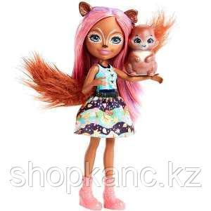 Mattel Enchantimals  Кукла с питомцем - Санча Белка
