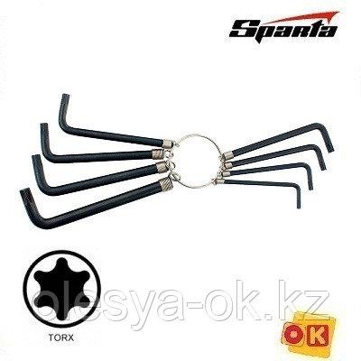 Ключи имбусовые, звездочка, 9 шт. SPARTA. 112667