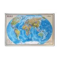 """Подкладка для письма """"Карта мира"""" 38*59 см."""