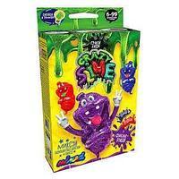 """Безопасный образовательный набор для проведения опытов """"Crazy Slime Фиолетовый"""" мини"""