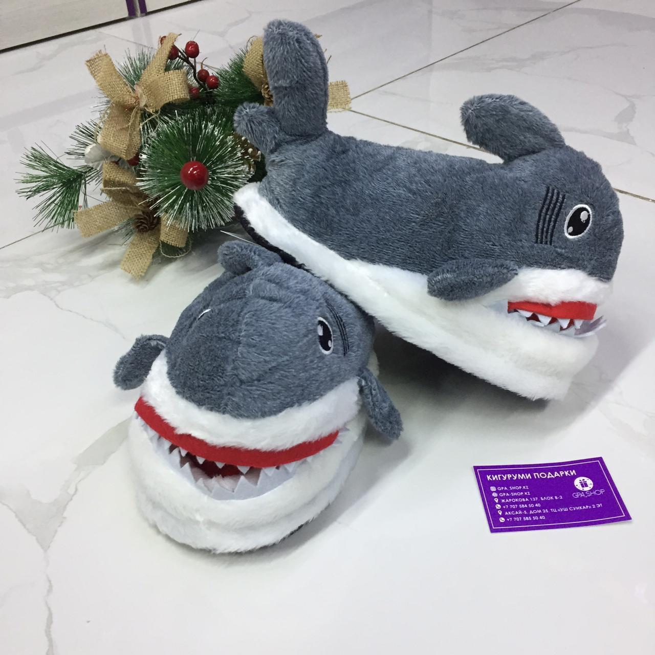Тапочки акула