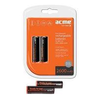 Аккумулятор ACME NiMN AA 2600 mAh  комплект 2шт