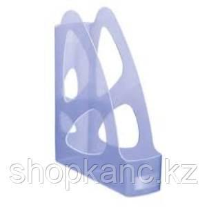Лоток вертикальный ПАРУС тонированный голубой ЛТ136
