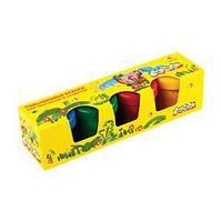 Краски пальчиковые Каляка-Маляка 110 мл, 4 цвета 3+