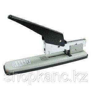 Мощный степлер №23/6, 23/8, 23/10, 23/13 до 100 л, черный/серый.