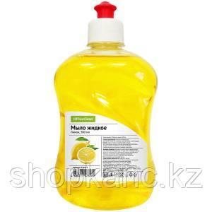 Мыло жидкое OfficeClean Лимон, пуш-пул, 500 мл.