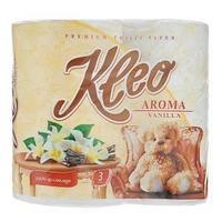 Туалетная бумага, Мягкий знак, Kleo, с ароматом Ванили, 3-х сл., 4 шт/упак.