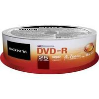 Диски Sony DVD-R  25 шт. шпиндель.