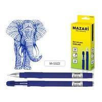 Ручка гелевая EXELINE, цвет чернил синий, 0,5 мм, корпус пластик, soft покрытие.