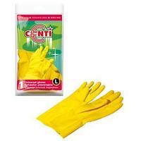 Перчатки резиновые CENTI  (L).
