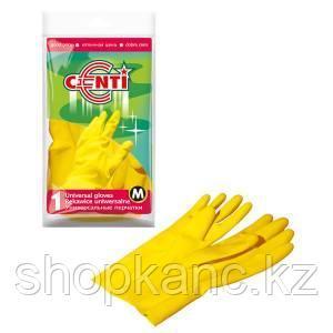 Перчатки резиновые CENTI  (M).