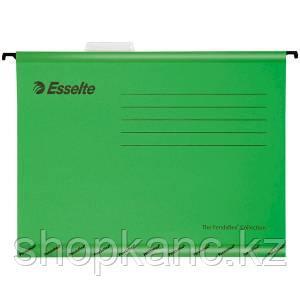Подвесная папка Pendaflex Standart, А4, картон, 205 г/м2, зеленая.