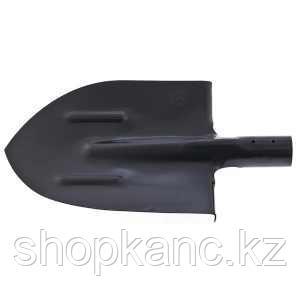 Лопата штыковая с ребрами жесткости закаленная, упрочненная сталь Ст5, без черенка