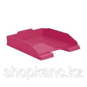 Лоток горизонтальный ЭКСПЕРТ розовый LILIA, ЛТ224