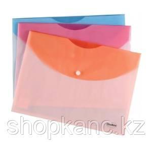 Пaпка-конверт на кнопке А4