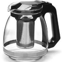Чайник заварочный с фильтром, термостойкое стекло 1.5л.