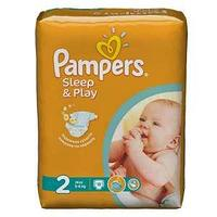 Подгузники Pampers Sleep & Play Mini 3-6 кг, 18 шт.