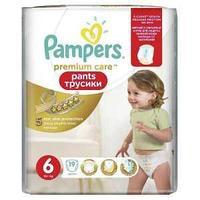 Подгузники Pampers Pants Трусики Premium Care от 16 кг размер 6  19 шт
