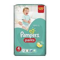 Подгузники Трусики Pampers Pants 4 Maxi 9-14 кг 52 шт