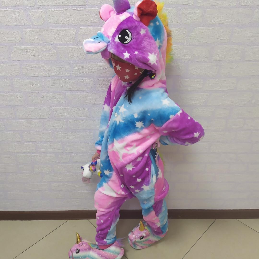 """Детская пижама кигуруми """"Млечный путь"""""""