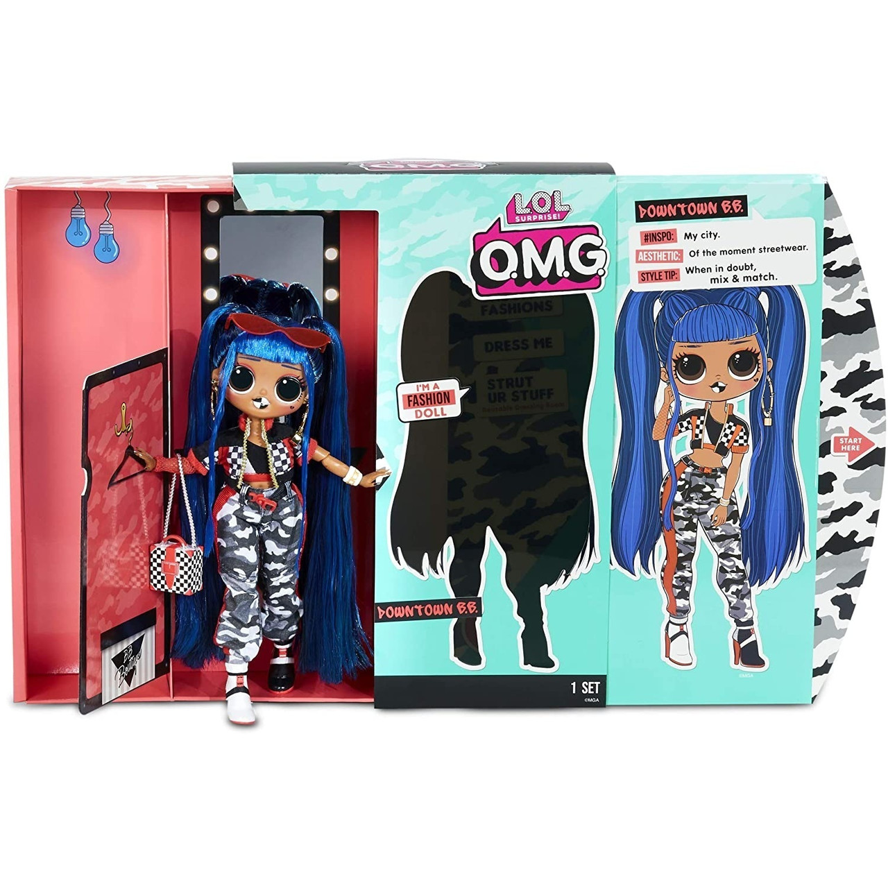 LOL OMG Модная Кукла Даунтаун БиБи (Downtown B.B.), 2 серия, 2 волна, ЛОЛ ОМГ - фото 4