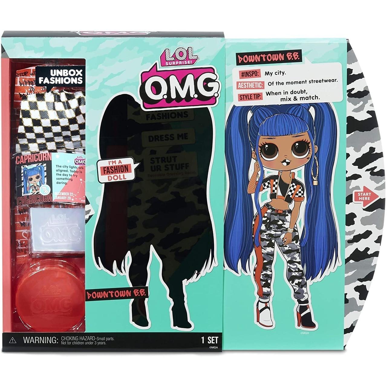 LOL OMG Модная Кукла Даунтаун БиБи (Downtown B.B.), 2 серия, 2 волна, ЛОЛ ОМГ - фото 3