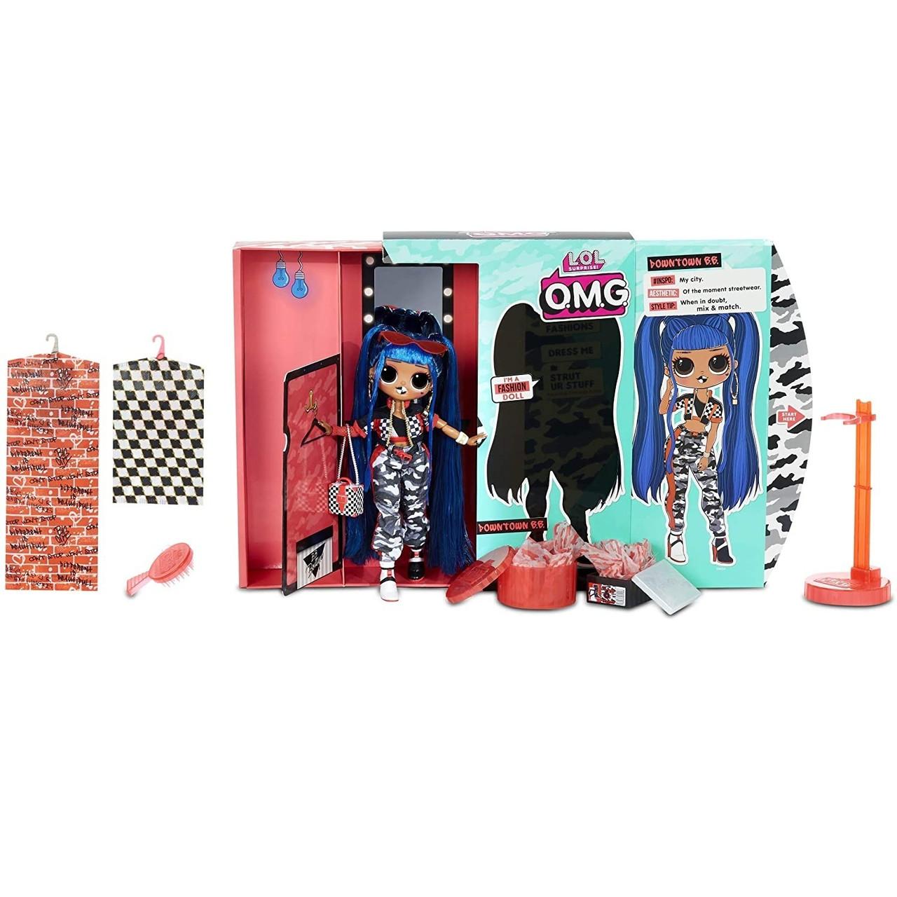 LOL OMG Модная Кукла Даунтаун БиБи (Downtown B.B.), 2 серия, 2 волна, ЛОЛ ОМГ - фото 5