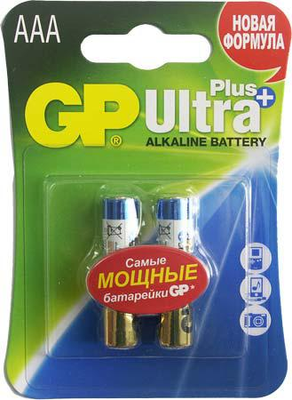 Батарейка GP AAA (LR03) Ultra Plus Alkaline