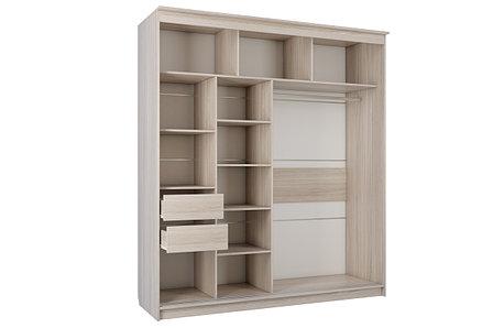 Шкаф для одежды 2Д  № 16, Шимо светлый, СВ Мебель (Россия), фото 2