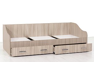 Город, Кровать с ящиками, Ясень Шимо светлый, СВ Мебель, фото 2