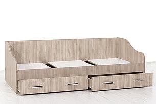 Кровать односпальная, модульной системы Город, Ясень, СВ Мебель (Россия), фото 2