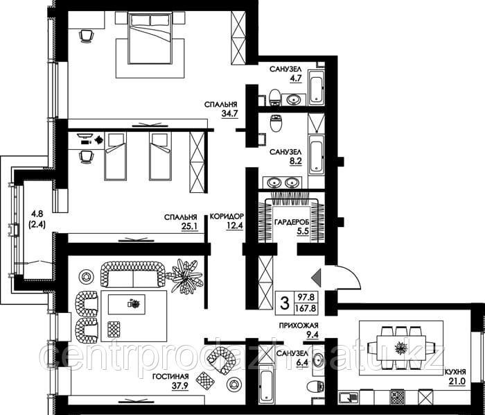 3 в жк квартиру комнатную купить париж недвижимость в юрмале отзывы
