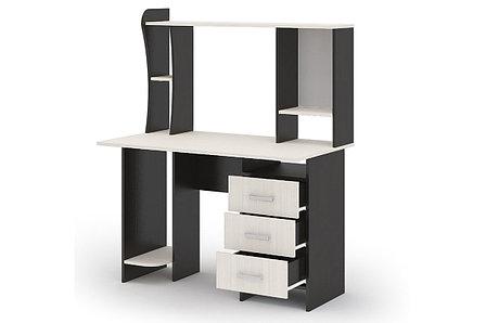 Стол компьютерный №5, Венге/Анкор, Стендмебель, фото 2