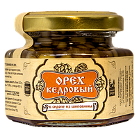 Ядро кедрового ореха в сиропе из шиповника 110 г Сибирский Знахарь