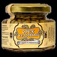 Ядро кедрового ореха в сиропе из одуванчика 110 г Сибирский Знахарь