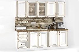 Комплект мебели для кухни Империя 2000, Белый, MEBEL SERVICE(Украина)