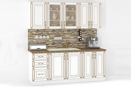 Комплект мебели для кухни Империя 1800, Белый, MEBEL SERVICE(Украина), фото 2